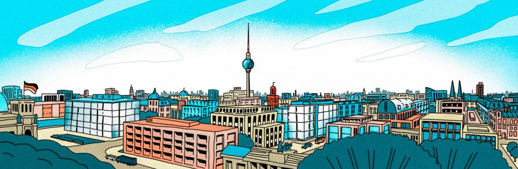 Johannes Guendel Grafik und Illustration Illu Berlin Panorama